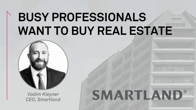 Busy professionals want to buy real estate