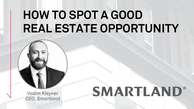 How to spot a good real estate opportunity