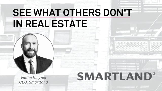 See what others don't in real estate