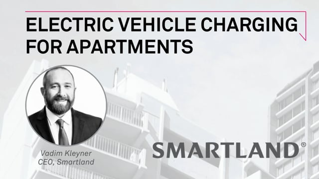 Electric vehicle charging for apartments