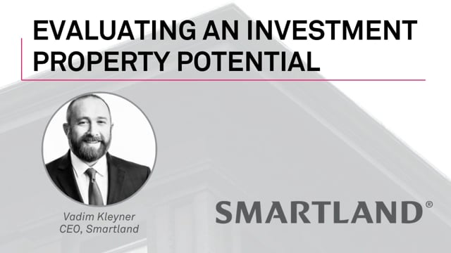 Evaluating an investment property potential