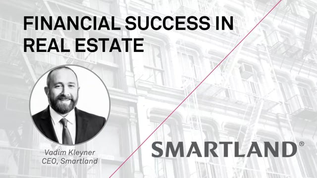 Financial success in real estate