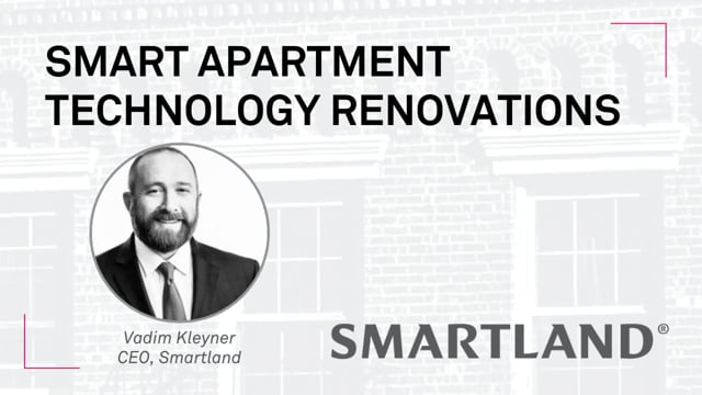 Smart Apartment Technology Renovations