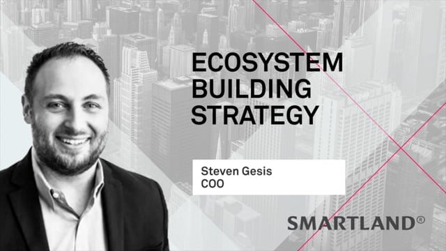 Ecosystem building strategy