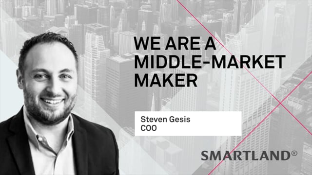 We are middle market maker