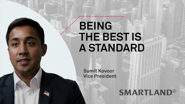 Being the best is a standard