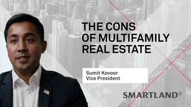 The cons of multifamily real estate