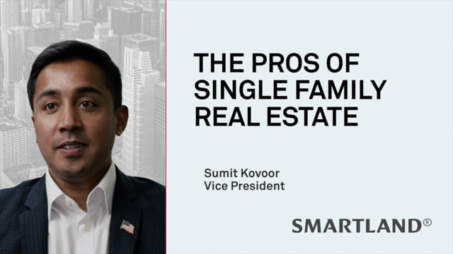 The pros of single-family real estate