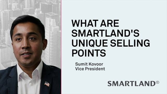 What are Smartland's unique selling points